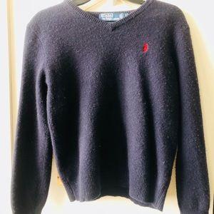 Polo by Raulph Lauren Women's v-neck sweater